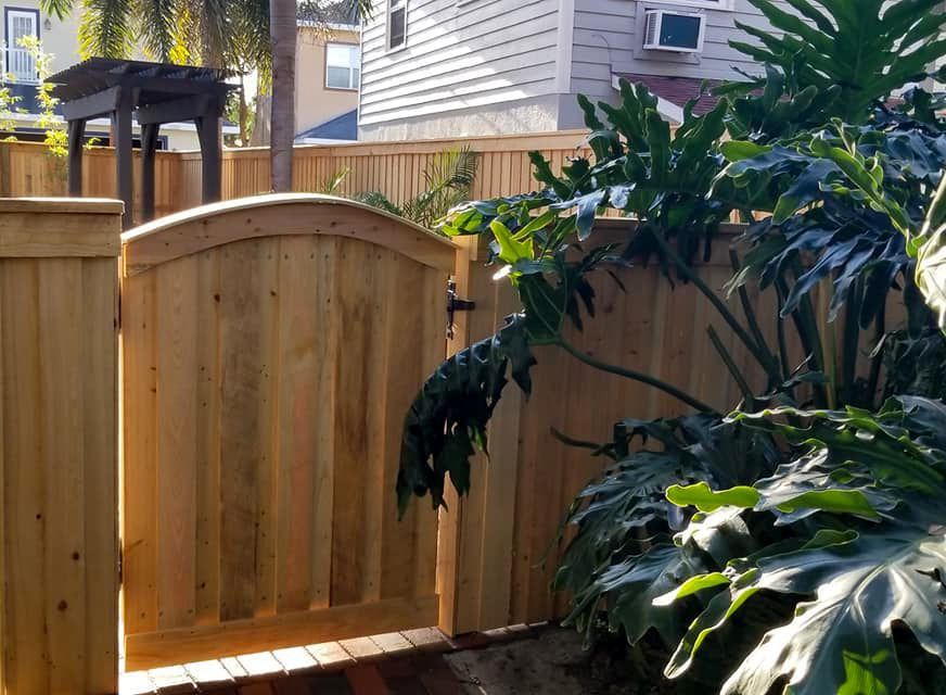 New fence installation Tampa Bay
