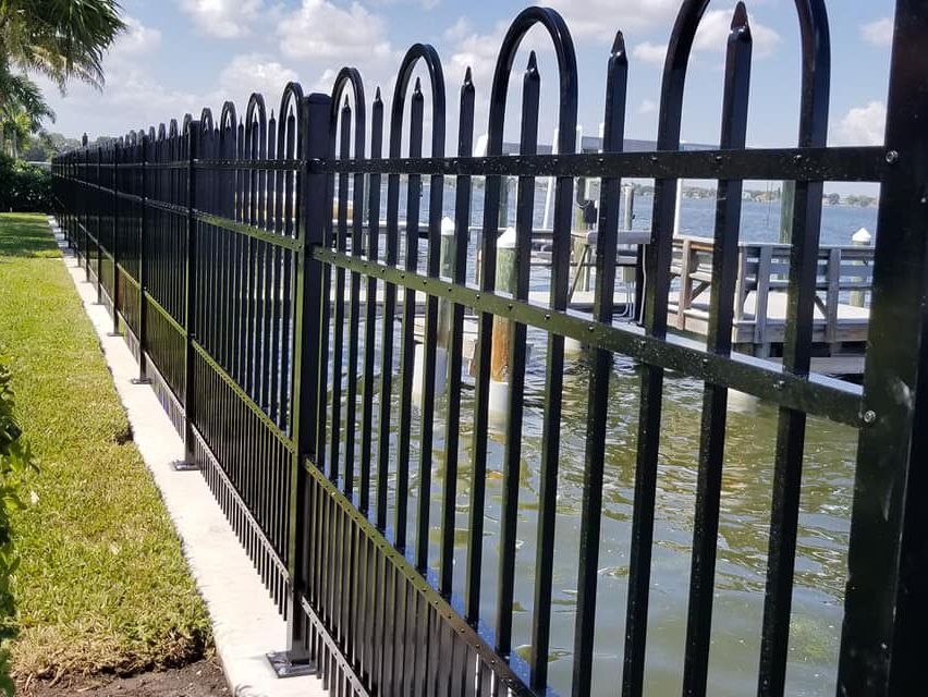 Clearwater fence installation