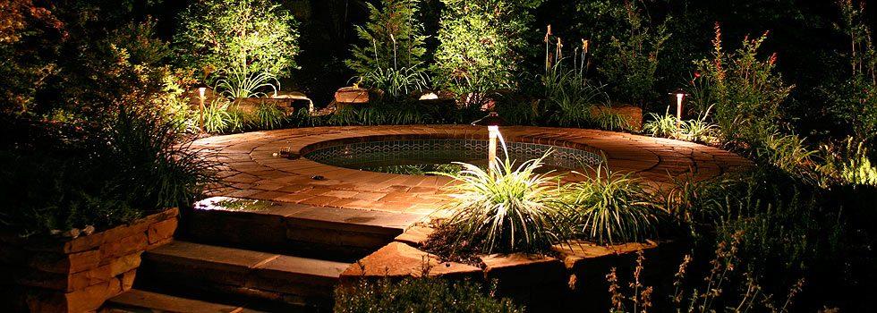 Outdoor lighting tampa bay area illuminate your yard aloadofball Choice Image
